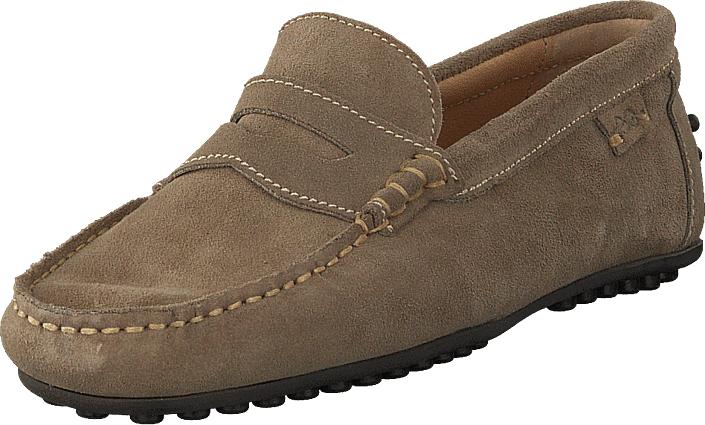 Marstrand Driving Loafer Sde Sand, Kengät, Matalapohjaiset kengät, Loaferit, Ruskea, Miehet, 44
