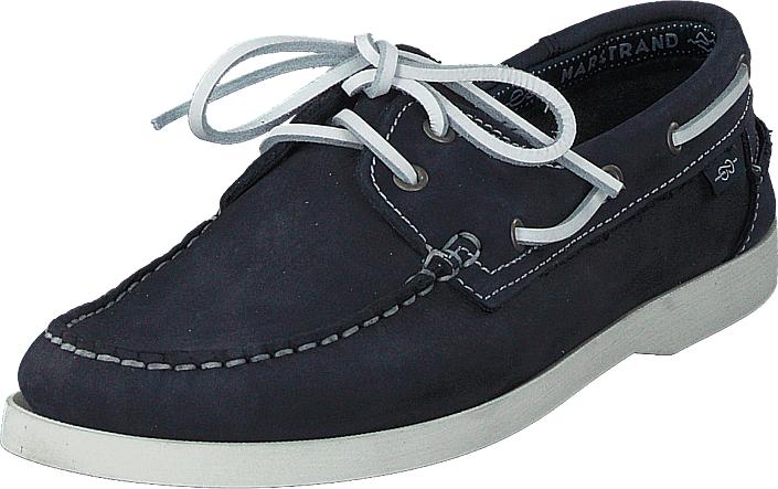 Marstrand 2 Eye Nbk Wmn Navy, Kengät, Matalapohjaiset kengät, Purjehduskengät, Sininen, Naiset, 37