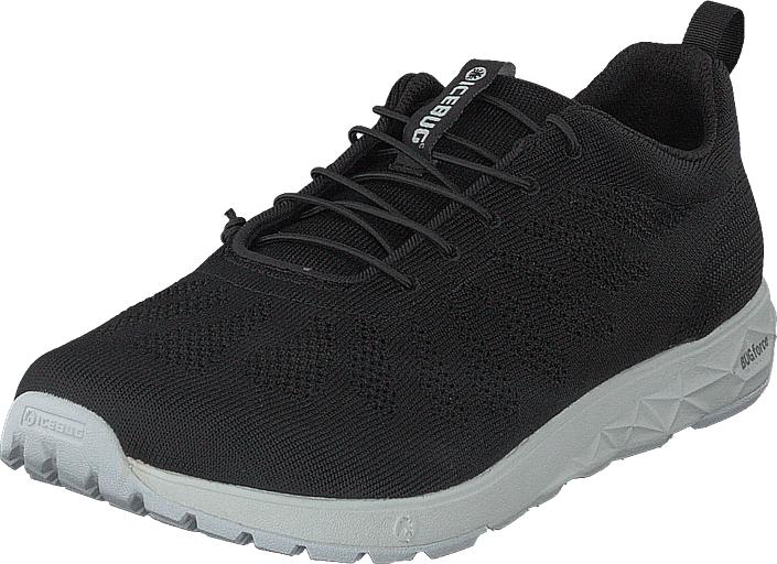 Icebug Eli W RB9X Black, Kengät, Sneakerit ja urheilukengät, Sneakerit, Musta, Naiset, 39