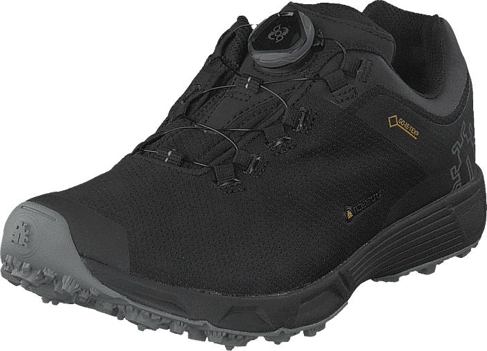Icebug DTS3 W RB9X GTX Carbon/Black, Kengät, Sneakerit ja urheilukengät, Tennarit , Musta, Naiset, 37