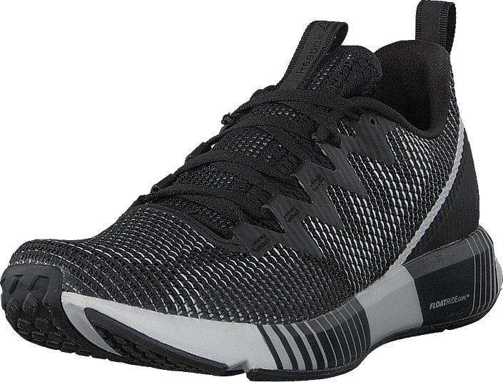 Reebok Fusion Flexweave Black/Ash Grey/Red/White, Kengät, Sneakerit ja urheilukengät, Urheilukengät, Musta, Miehet, 42