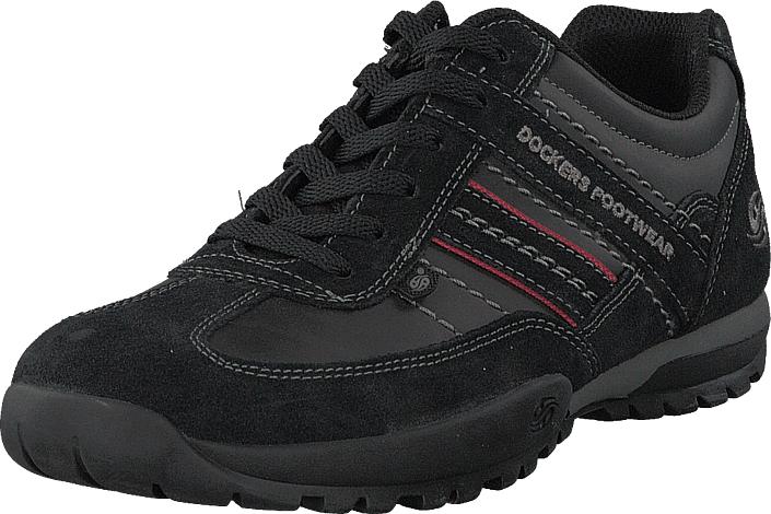 Dockers by Gerli 204100 Black, Kengät, Sneakerit ja urheilukengät, Sneakerit, Musta, Miehet, 40