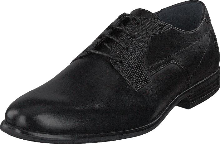 Dockers by Gerli 100100 Black, Kengät, Matalapohjaiset kengät, Juhlakengät, Musta, Miehet, 43