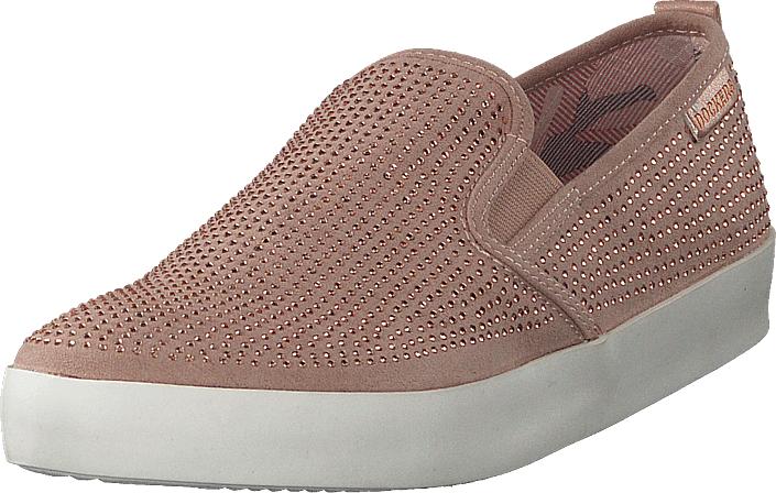 Dockers by Gerli 777760 Pink, Kengät, Matalapohjaiset kengät, Kangaskengät, Ruskea, Naiset, 36