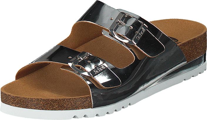 Scholl Glam SS2 Silver, Kengät, Sandaalit ja tohvelit, Sandaalit, Ruskea, Naiset, 42
