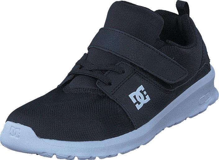 DC Shoes Heathrow Ev Black/White, Kengät, Sneakerit ja urheilukengät, Varrettomat tennarit, Musta, Unisex, 30