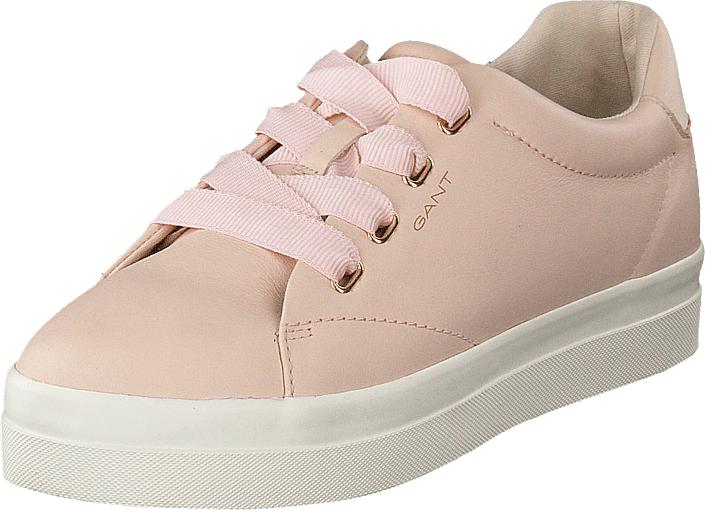 Gant Amanda Low Lace Shoes Silver Pink, Kengät, Sneakerit ja urheilukengät, Sneakerit, Beige, Naiset, 36