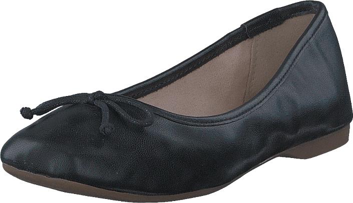 Bianco Ballerina Black, Kengät, Matalapohjaiset kengät, Ballerinat, Musta, Naiset, 36