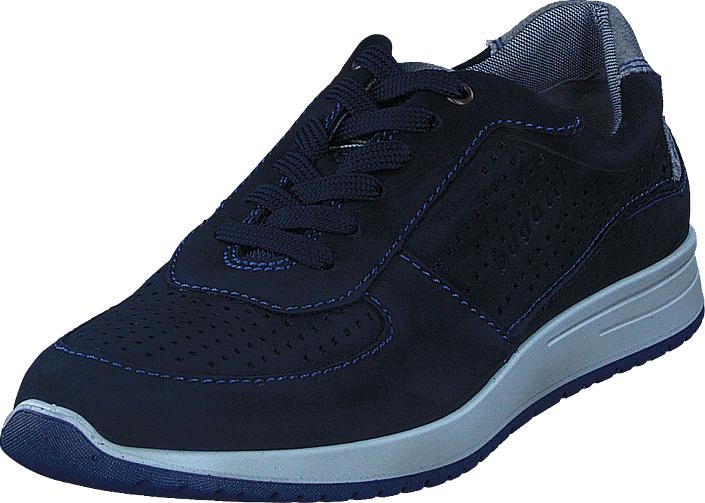 Bugatti Jacomo Navy Blue, Kengät, Sneakerit ja urheilukengät, Sneakerit, Sininen, Miehet, 40