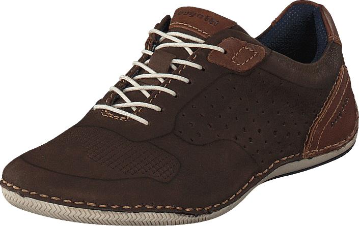 Bugatti Canario Brown, Kengät, Matalapohjaiset kengät, Juhlakengät, Ruskea, Miehet, 40