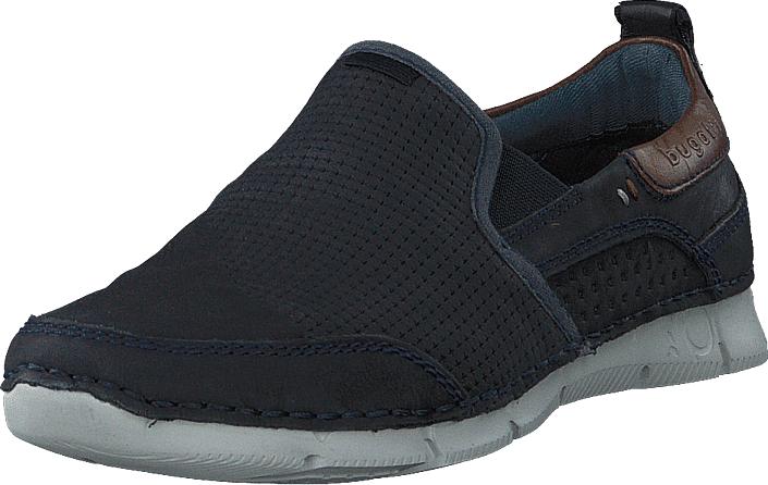 Bugatti Cangoo Dark Blue, Kengät, Matalapohjaiset kengät, Kangaskengät, Sininen, Miehet, 40