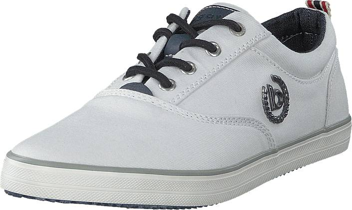 Bugatti Alfa White, Kengät, Sneakerit ja urheilukengät, Sneakerit, Harmaa, Miehet, 43