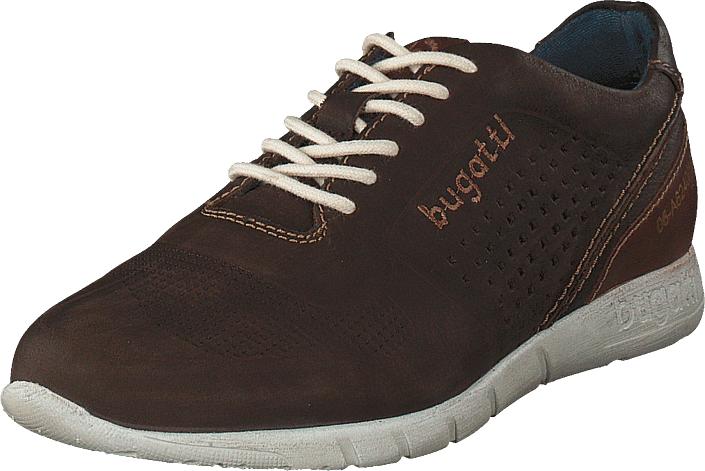 Bugatti Bambola Dark Brown, Kengät, Sneakerit ja urheilukengät, Sneakerit, Ruskea, Miehet, 40