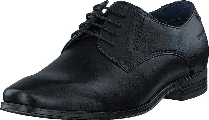 Bugatti Morino Black, Kengät, Matalapohjaiset kengät, Juhlakengät, Musta, Miehet, 43