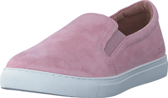 Dasia Daylily Slip-on Pink, Kengät, Matalapohjaiset kengät, Slip on, Vaaleanpunainen, Naiset, 36