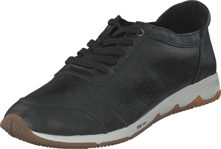 Hush Puppies Cesky Perf.oxford Black, Kengät, Sneakerit ja urheilukengät, Sneakerit, Harmaa, Musta, Naiset, 36