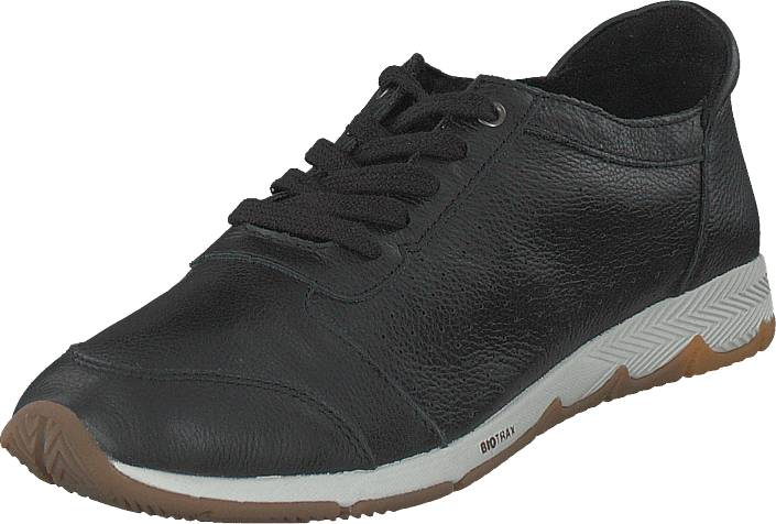 Hush Puppies Cesky Perf.oxford Black, Kengät, Sneakerit ja urheilukengät, Sneakerit, Harmaa, Musta, Naiset, 38