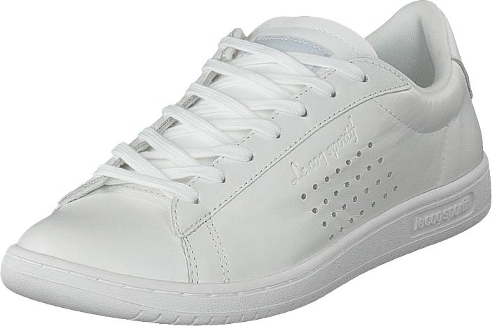 Le Coq Sportif Arthur Ashe Optical White, Kengät, Matalapohjaiset kengät, Kävelykengät, Valkoinen, Miehet, 40