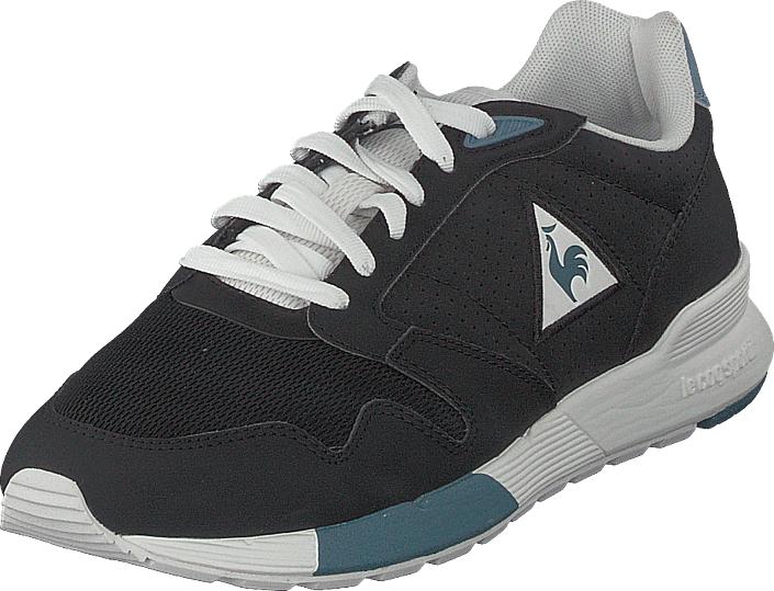 Le Coq Sportif Omega X Black, Kengät, Sneakerit ja urheilukengät, Sneakerit, Musta, Miehet, 40
