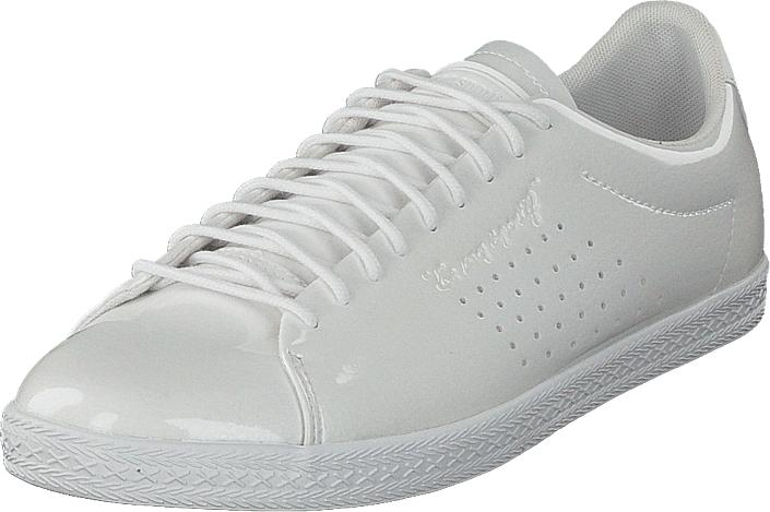 Le Coq Sportif Charline Optical White, Kengät, Sneakerit ja urheilukengät, Sneakerit, Valkoinen, Naiset, 36