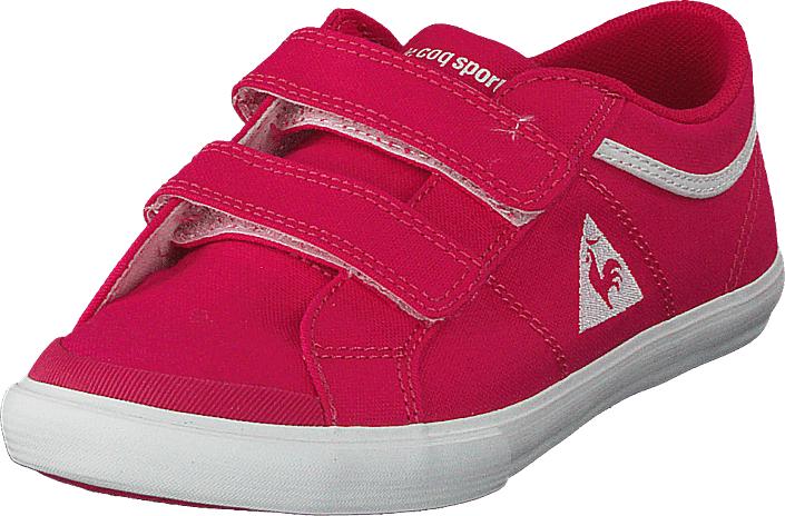 Le Coq Sportif Saint Gaetan Ps Rose Red, Kengät, Matalapohjaiset kengät, Kangaskengät, Vaaleanpunainen, Unisex, 28