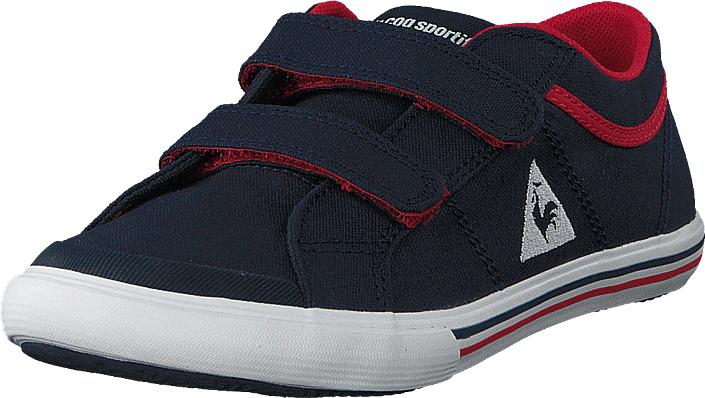 Le Coq Sportif Saint Gaetan Ps Dress Blue/vintage Red, Kengät, Sneakerit ja urheilukengät, Varrettomat tennarit, Sininen, Unisex, 28