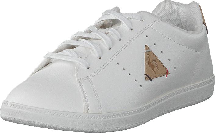 Le Coq Sportif Courtone Gs Optical White/croissant, Kengät, Sneakerit ja urheilukengät, Sneakerit, Valkoinen, Unisex, 32