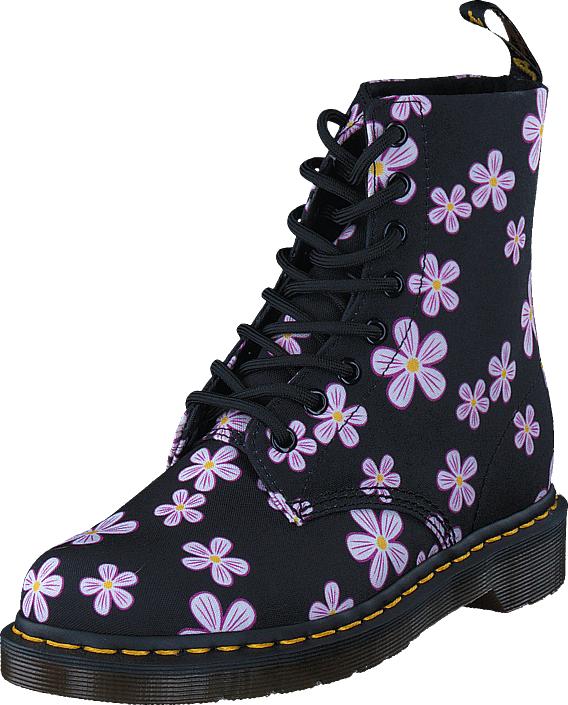 Dr Martens Page Meadow Black Multi, Kengät, Bootsit, Kengät, Musta, Naiset, 38