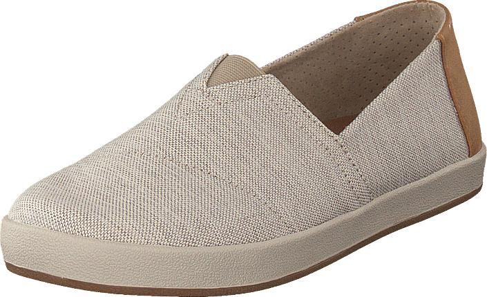 Toms Avalon Oxford Tan Space-dye, Kengät, Matalapohjaiset kengät, Slip on, Ruskea, Beige, Miehet, 41