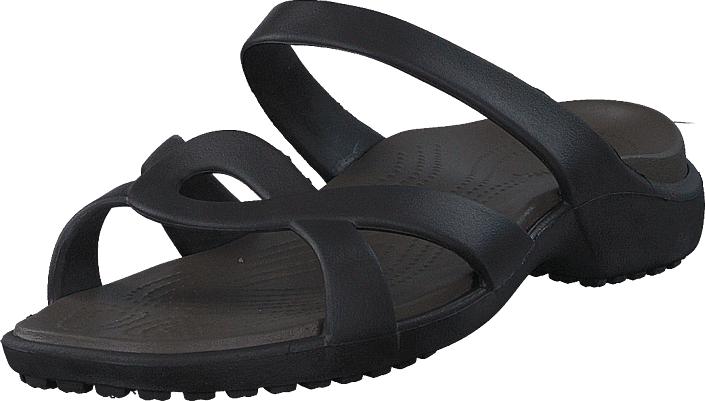 Crocs Meleen Twist Sandal W Espresso/walnut, Kengät, Sandaalit ja tohvelit, Sandaalit, Ruskea, Harmaa, Violetti, Naiset, 34