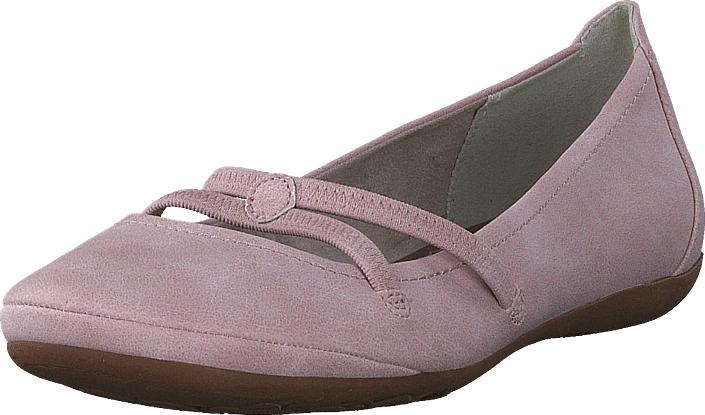 Tamaris 22110-521 Rose, Kengät, Matalapohjaiset kengät, Slip on, Violetti, Naiset, 36