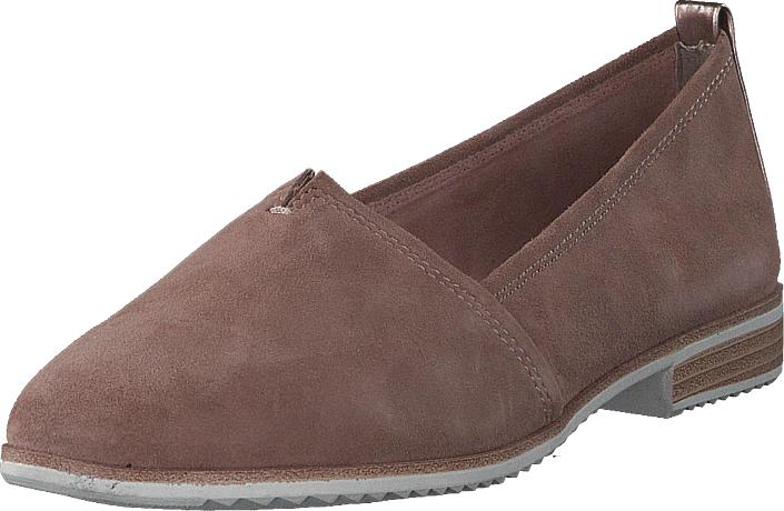 Tamaris 24205-616 Old Rose, Kengät, Matalapohjaiset kengät, Loaferit, Ruskea, Naiset, 37