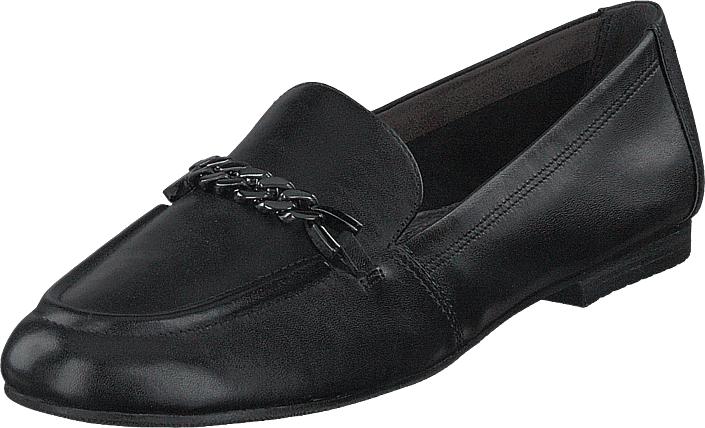 Tamaris 24214-003 Black, Kengät, Matalapohjaiset kengät, Slip on, Musta, Naiset, 40