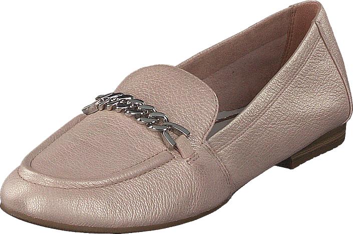 Tamaris 24214-548 Light Rose, Kengät, Matalapohjaiset kengät, Slip on, Ruskea, Beige, Naiset, 39