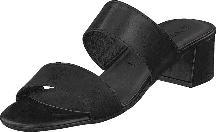 Tamaris 27231-003 Black, Kengät, Korkokengät, Matalakorkoiset sandaalit, Musta, Naiset, 39