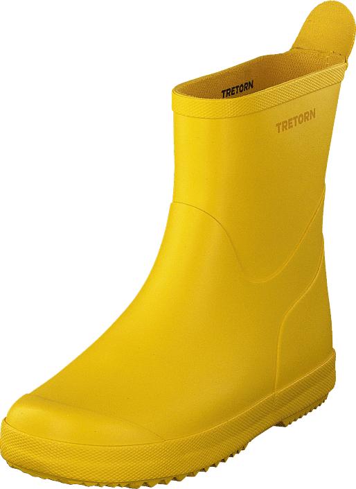 Tretorn Wings Monochrome Kids Yellow, Kengät, Saappaat ja saapikkaat, Kumisaappaat, Keltainen, Unisex, 31