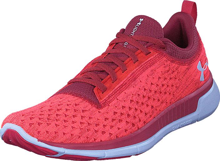 Under Armour Ua W Lightning 2 Red, Kengät, Sneakerit ja urheilukengät, Urheilukengät, Punainen, Vaaleanpunainen, Naiset, 37