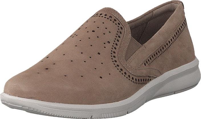 Rockport Ayva Twin Gore Dove, Kengät, Matalapohjaiset kengät, Loaferit, Ruskea, Naiset, 35