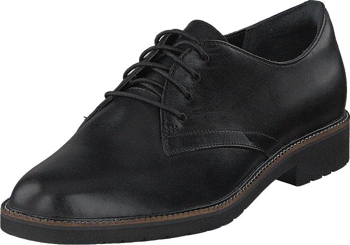 Rockport Tm Abelle Laceup Black Leather, Kengät, Matalapohjaiset kengät, Juhlakengät, Musta, Naiset, 40