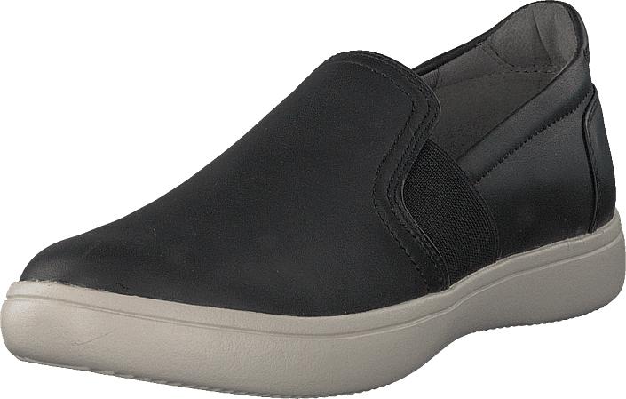Rockport Ariell Gore Slip-on Black Lea, Kengät, Sneakerit ja urheilukengät, Sneakerit, Musta, Naiset, 35