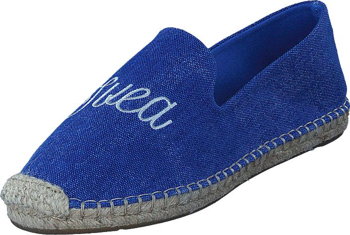 Svea Amanda Espadrilla Blue, Kengät, Matalapohjaiset kengät, Slip on, Sininen, Naiset, 36