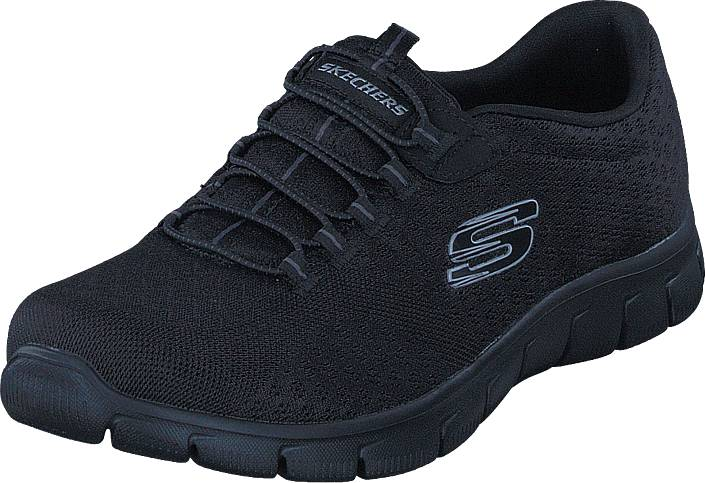 Skechers Empire - Ocean View 12406 Bbk, Kengät, Sneakerit ja urheilukengät, Urheilukengät, Musta, Naiset, 37