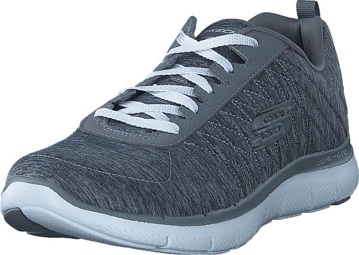 Skechers Flex Appeal 2.0 Gry, Kengät, Sneakerit ja urheilukengät, Urheilukengät, Sininen, Unisex, 37