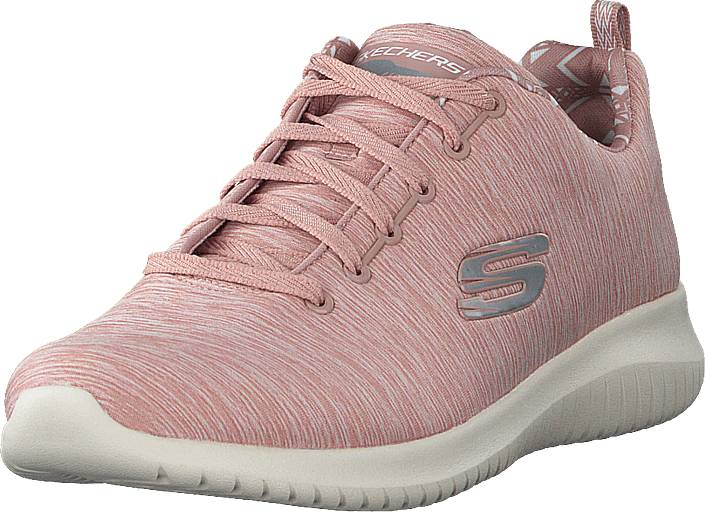 Skechers Ultra Flex Ros, Kengät, Sneakerit ja urheilukengät, Sneakerit, Vaaleanpunainen, Unisex, 39