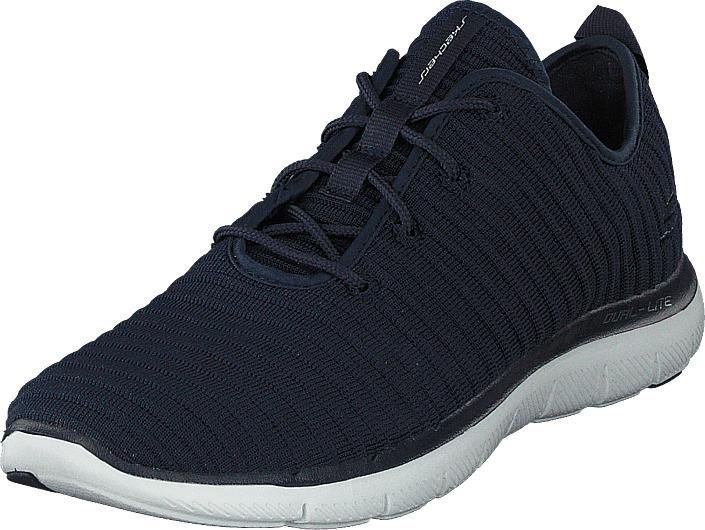 Skechers Flex Appeal 2.0 Nvy, Kengät, Sneakerit ja urheilukengät, Urheilukengät, Vihreä, Sininen, Unisex, 41
