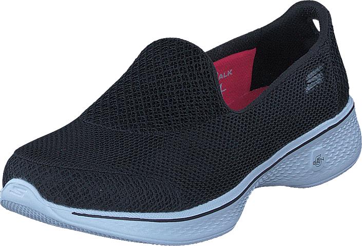Skechers Go Walk 4 Bkw, Kengät, Matalapohjaiset kengät, Slip on, Sininen, Naiset, 40