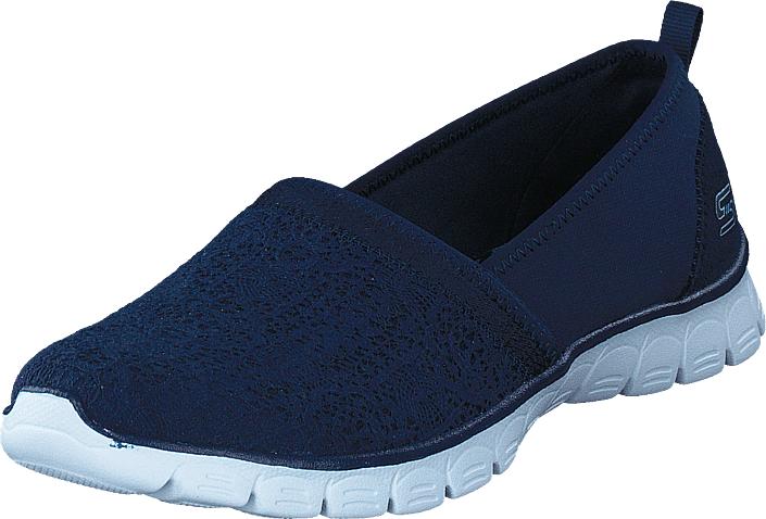 Skechers Ez Flex 3 Nvy, Kengät, Matalapohjaiset kengät, Slip on, Sininen, Naiset, 40