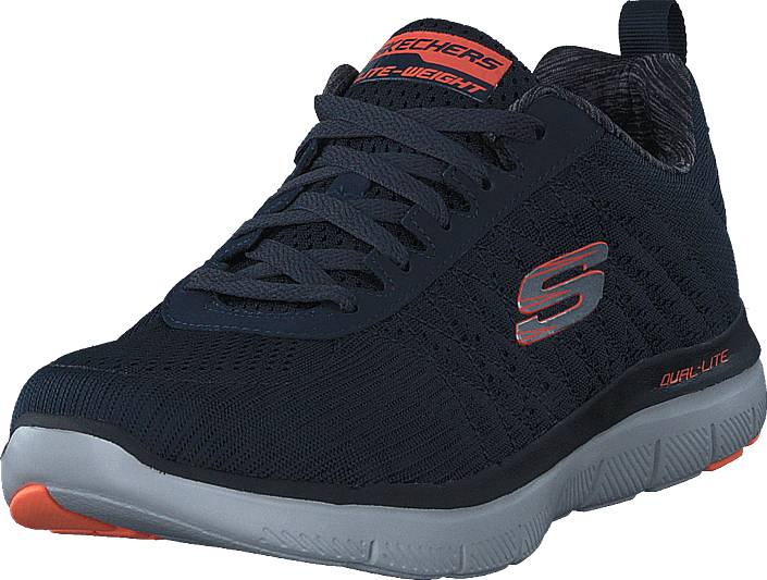 Skechers Flex Advantage 2.0 52185 Dknv, Kengät, Sneakerit ja urheilukengät, Sneakerit, Sininen, Miehet, 41