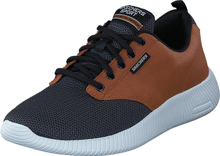 Skechers Depth Charge Wtbk, Kengät, Sneakerit ja urheilukengät, Sneakerit, Ruskea, Sininen, Miehet, 46