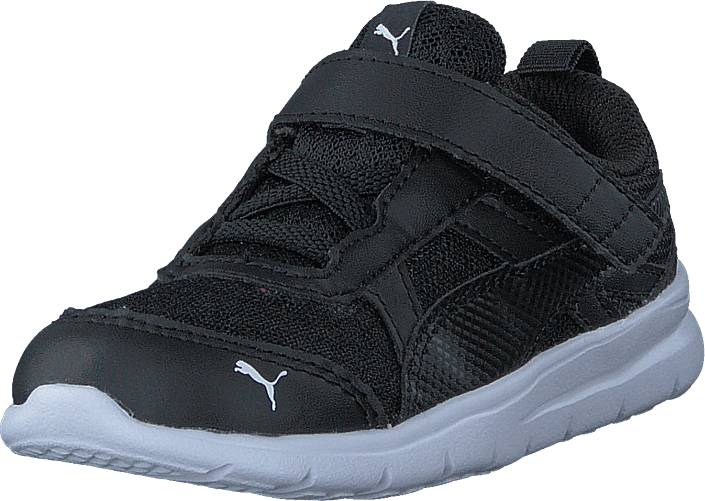 Puma Puma Flex Essential V Inf Puma Black-puma Black, Kengät, Sneakerit ja urheilukengät, Urheilukengät, Musta, Unisex, 21